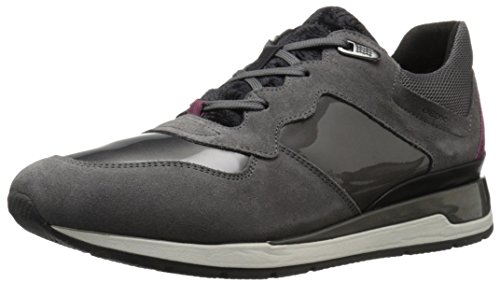 Geox D Shahira A Damen Sneakers Grau (dk Greyc9002)
