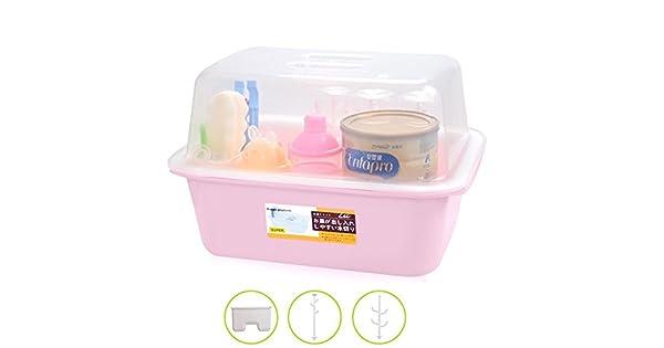 Amazon.com: olizee bebé botella estante de secado con tapón ...