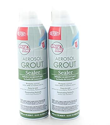 GROUT SEALER AEROSOL,13.5 oz(Pack of 2)