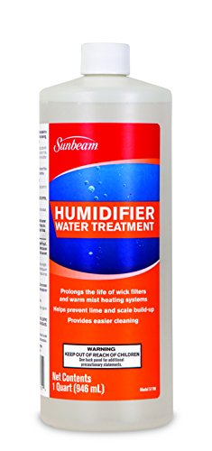 Sunbeam Humidifier Water Treatment Solution, 32 Fl (Sunbeam Humidifier Parts)