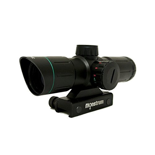 Monstrum Tactical 3x30 Ultra-Compact Rifle Scope with for sale  Delivered anywhere in USA