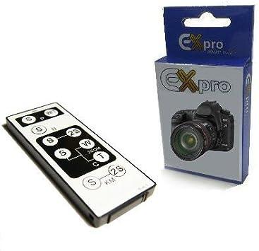 EX-Pro Canon blanco disparador interruptor de mando a distancia ...