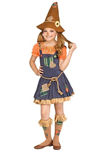 Fun World Scarecrow Costume, Medium 8-10, Multicolor -