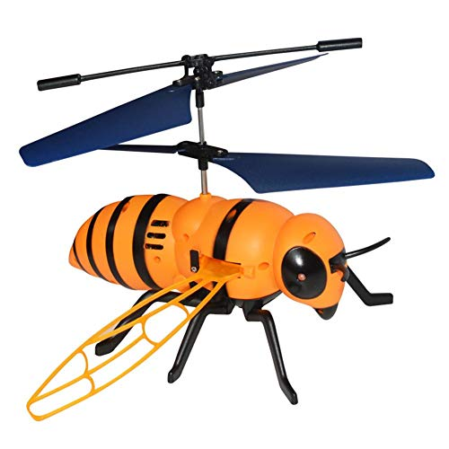 Remote Control Helicopter,Enjoyall RC Bumblebee Flying Aircraft Infrared Induction Helicopter