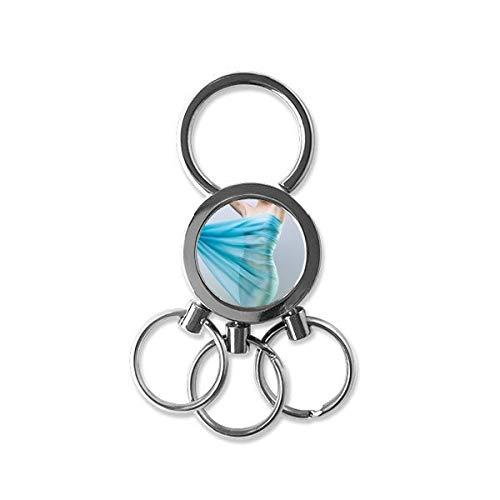 gant Pretty Gal Sexy Lady Photo Metal Key Chain Ring Car Keychain Creative Trinket Keyring Novelty Item Best Charm Gift ()
