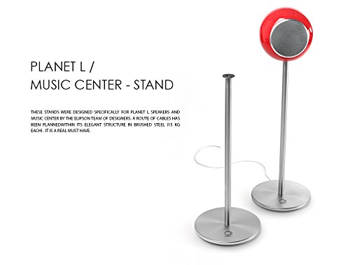 Elipson Music Center and Planet L Stand