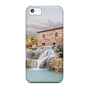 meilinF000For ipod touch 4 Waterfalls Of Saturnia Personal iphone New Fashion Cases case Runing's casemeilinF000