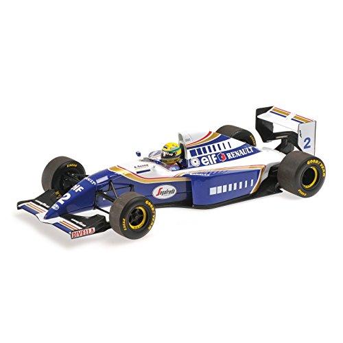 Williams Renault FW 16, No.2, formula 1, 1994, Model Car, Ready-made, Minichamps 1:18
