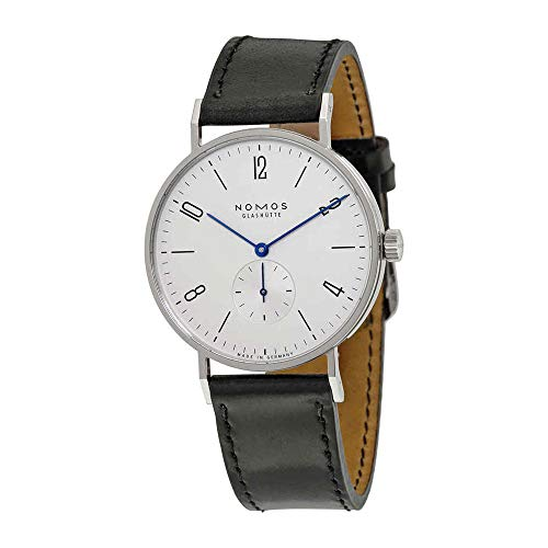 Nomos Tangente 38 Galvanized White Silver-plated Dial Mens Watch 164