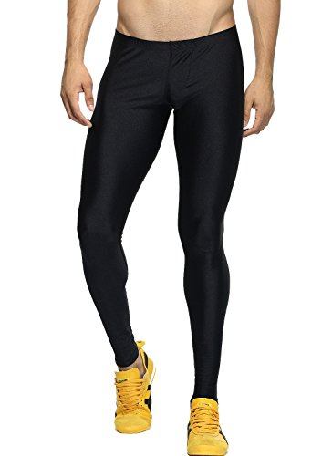 MIZOK Mens Sports Tight Leggings for Gym Workout Running Tights
