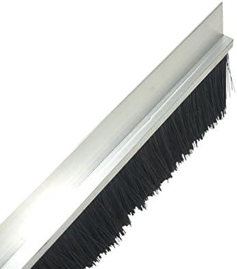 cepillo Junta 100 cm de aluminio H de perfil Burlete mosca Junta Persianas: Amazon.es: Bricolaje y herramientas