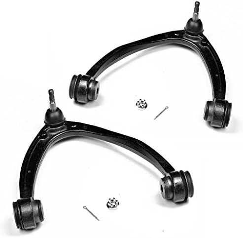 MECHAPRO K80669+K80670 2PCS Set Front Upper Control Arm Assembly for for Cadillac Chevrolet GMC Trucks