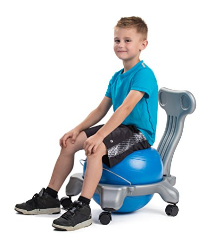 bintiva Ball Chair for Children - Includes Free Air Pump. Keeps The Mind Focused While Promoting A Healthy Posture. by bintiva (Image #3)