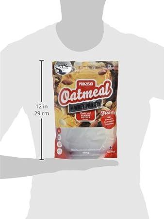 Prozis Oatmeal, Manteca de Cacahuete - 400 gr: Amazon.es: Salud y cuidado personal