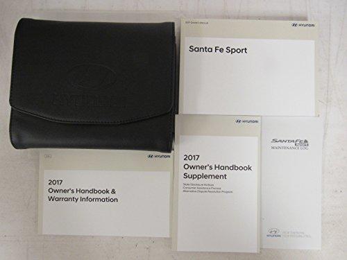 2017 Hyundai Santa Fe Sport Owners Manual Guide Book