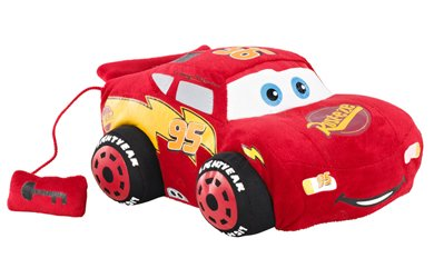 Disney Pixar Cars 2 - Flash McQueen - Peluche Interactive 28 cm (Import Royaume-