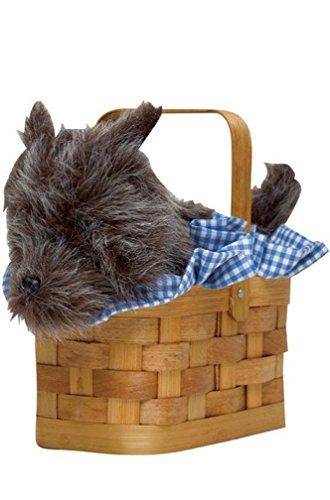 8eighteen Wizard of Oz Doggie Basket Dorothy Costume Accessory (Gothic Dorothy Costume)