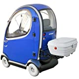 Shoprider Flagship Enclosed Scooter, Blue