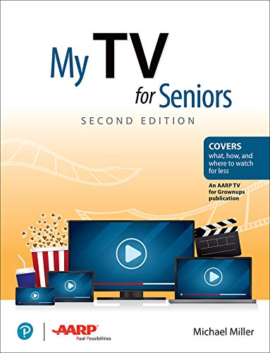 Book Cover: My TV for Seniors