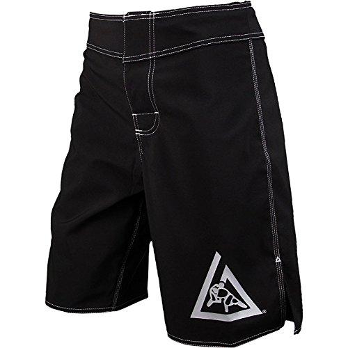 Gracie Jiu-Jitsu Original Black Fight Shorts Black 42