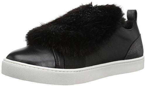 ALDO Womens Athelina Fashion Sneaker, Black Synthetic, 9 B US