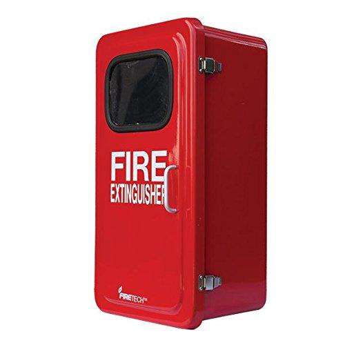 FireTech Fiberglass Red Cabinet Only, 26 1/8''H x 13''W x 9''D by FireTech