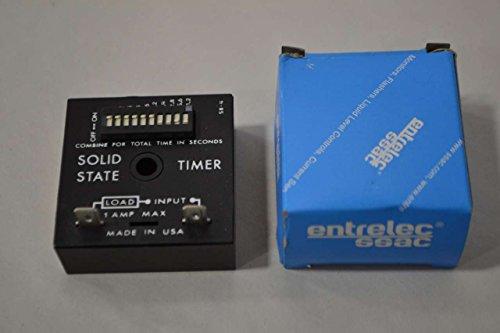 Ssac Solid Timer State (NEW SSAC TDUL3000A ENTRELEC 0.1-102.3SEC SOLID STATE TIMER 120V-AC 1A D343812)