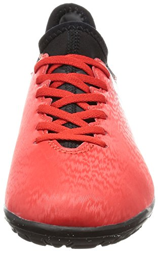 adidas X 16.3 Tf J, Botas de Fútbol para Niños rojo y negro