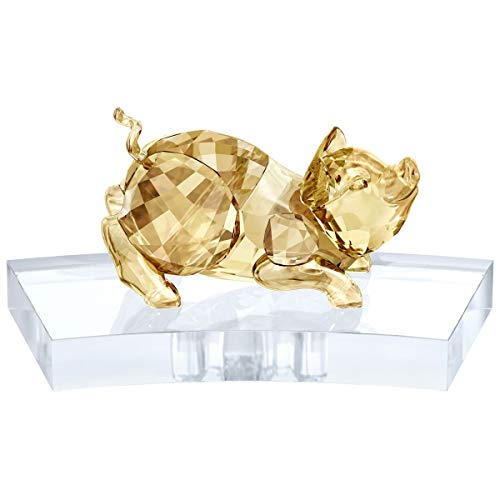 Swarovski North America Ltd. Chinese Zodiac Crystal Pig Figurine