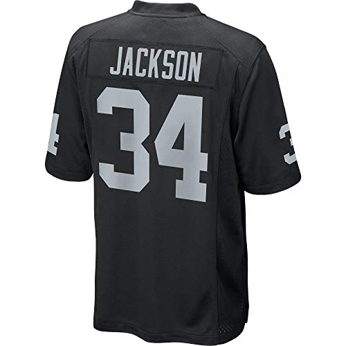 (Men's/Women's/Youth_Bo_#34_Black_Jackson_Game_Jersey)