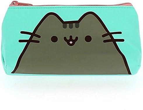Oficial diseño de Pusheen de gato estuche fiesta regalo escuela hogar papelería verde Aqua: Amazon.es: Hogar