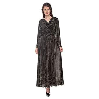 Cocum Maxi Dress For Women - 12 Uk, Black