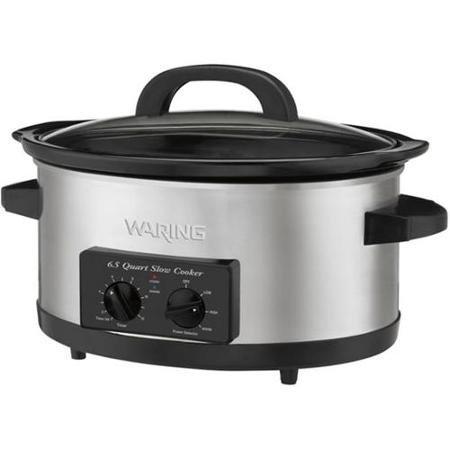 Waring Pro WSC650 300-Watt 6. 5-Quart Slow Cooker