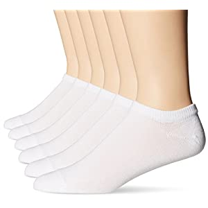 Hanes Men's FreshIQ ComfortBlend Liner Socks (Pack of 6)