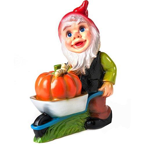 Rakso Gnome With Pumpkin, 13