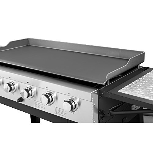 Griddle Tops For Gas Grills ~ Royal gourmet regal gb event burner propane gas