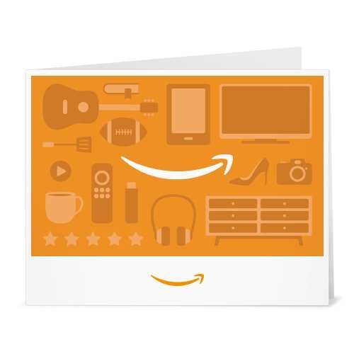Amazon Gift Card - Print - Shopping Icons