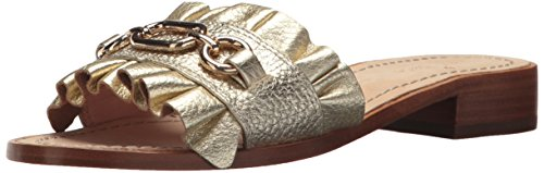 Kate Spade New York Women's Beau Slide Sandal, Gold, 7 M US by Kate Spade New York
