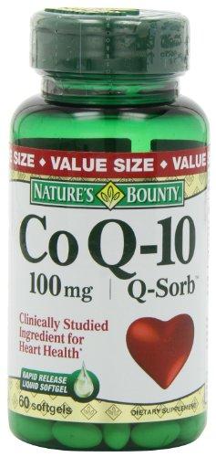 La générosité de la nature Q-Sorb Co Q-10 100 mg., 60 gélules