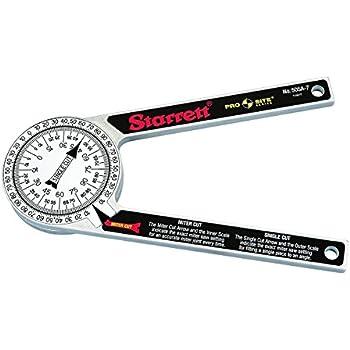 Starrett 505A-7 ProSite Protractor