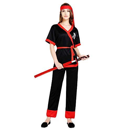 Zounghy Disfraz de Samurai para Mujer de Halloween con ...