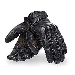 Royal Enfield Burnish Gloves Black (XL)23CM (RRGGLM000089)