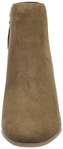 cuero Buffalo de Beige London Camel Botas mujer para 4469 414 qpO7OwX