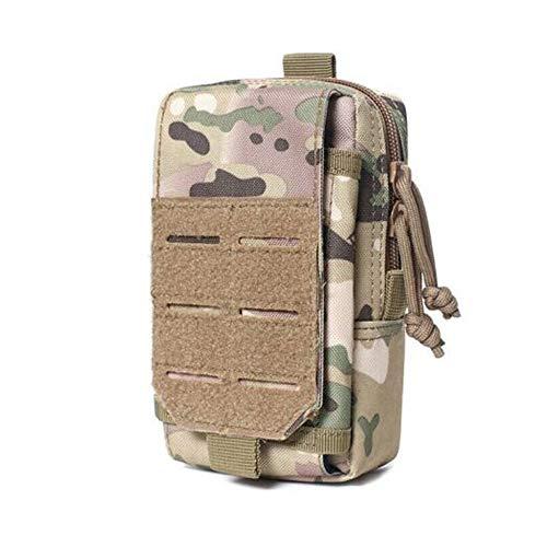 Outdoor EDC Tactical Molle Pouch Militaire Heuptas Gereedschapstas Houder Pakket voor Sport, Wandelen, Trekking…