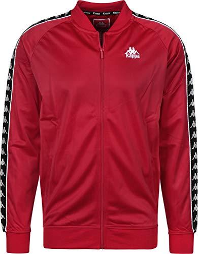Uomo Giacche Kappa giacca Authentic Stagione 511847 Mezza Rosso ZRBfq1HnwB