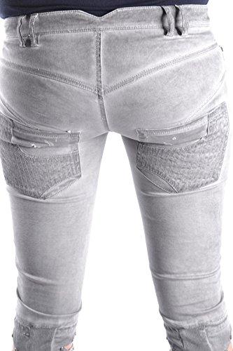 Femme Jeans LOST GET Coton Gris MCBI407002O U4S54OnAW