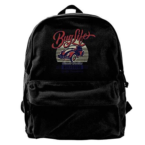 Super Star Bug Life Canvas Shoulder Backpack