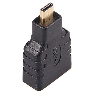 Micro HDMI V1.3 Male to HDMI V1.3 Female Adapter Dongle(10PCS)