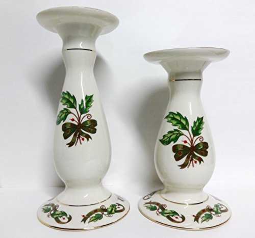 Holly Holiday Vintage Pair of 10