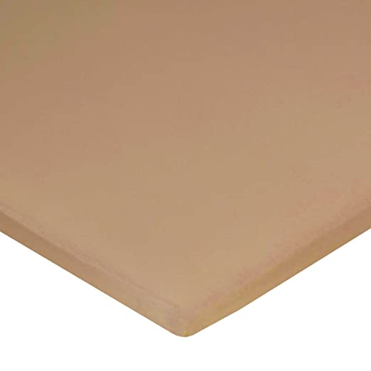 Amazon.com : Carters Jersey Cotton Bassinet Fitted Sheets - Almond : Baby